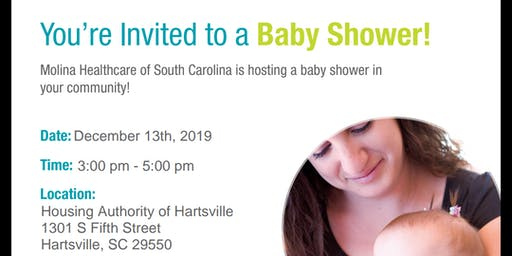 Hartsville SC Baby Shower