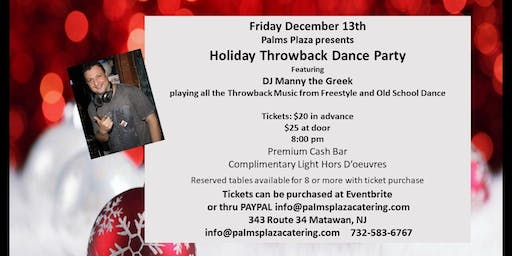 Holiday Throwback Dance Party