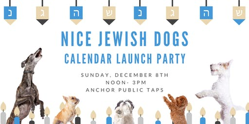 Nice Jewish Dogs Calendar Launch Party