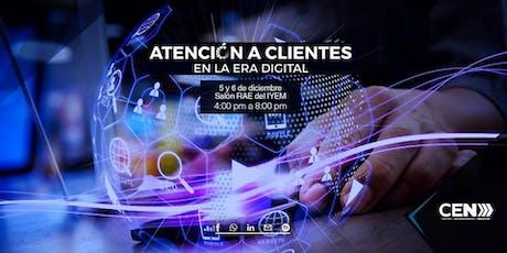 Curso-Taller Atención a clientes en la Era Digital boletos