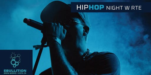 Hip Hop Night Hosted BY RTE At Ebullition Brew Works
