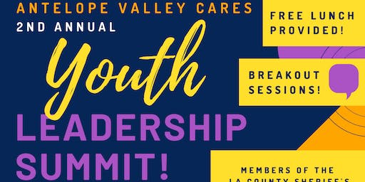 AV CARES 2nd Annual YOUTH LEADERSHIP SUMMIT