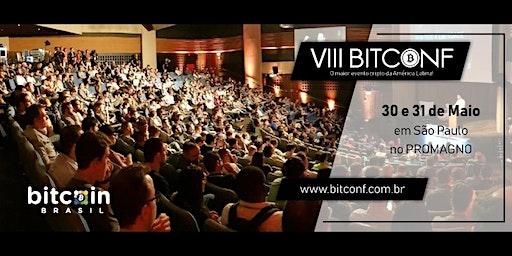 VIII BITCONF Conferência brasileira sobre Bitcoin e criptomoedas