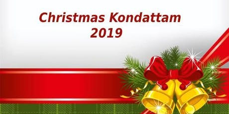 Christmas Kondattam tickets