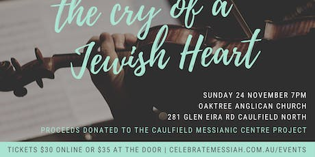 The Cry Of A Jewish Heart tickets