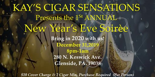 Kay's Cigar Sensations New Year's Eve Soiree
