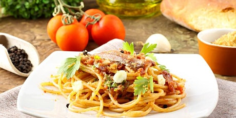 Homemade Pastas / Sauces  Cooking Class - Thurs 8/20/20  at 7pm - Kids OK tickets
