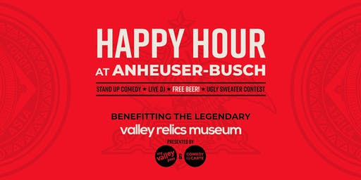 Happy Hour at Anheuser-Busch (21+)