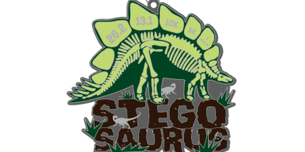 2020 Dinosaurs! STEGOSAURUS 1 Mile, 5K, 10K, 13.1, 26.2 - Phoenix