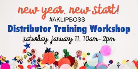AK LipBoss New Year Training tickets