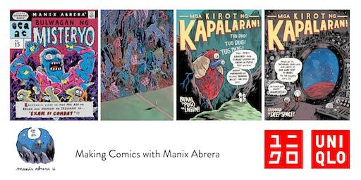 Making Comics with Manix Abrera