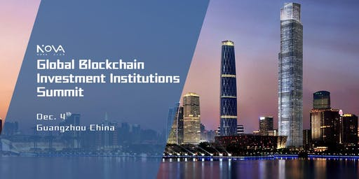 Nova Global Blockchain Investment Institutions Summit