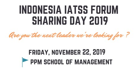 Indonesia IATSS FORUM Sharing Day 2019 tickets