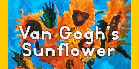 Van Gogh's Sunflower painting Workshop tickets