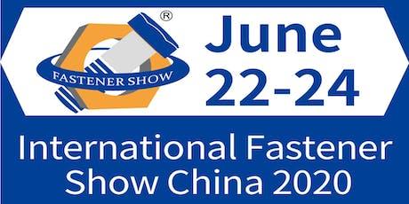 International Fastener Show China tickets