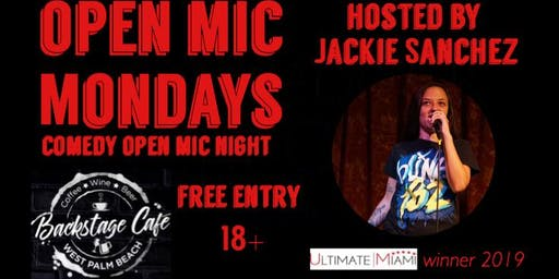 Open Mic Night with host Jackie Sanchez