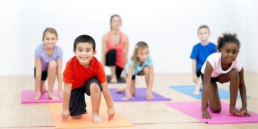 FREE KIds (5-12) Yoga Class 45 mins