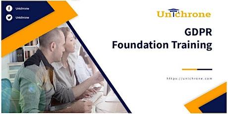 EU GDPR Foundation Training in New York United States tickets