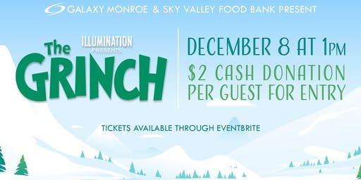 Sky Valley Food Banks Annual Holiday Fundraiser - THE GRINCH (2018)