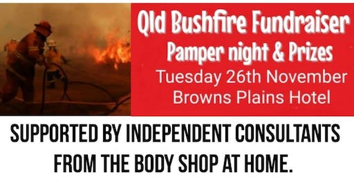Qld Bushfire Fundraiser - Pamper night