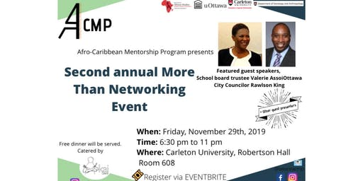 Second Annual More Than Networking Event