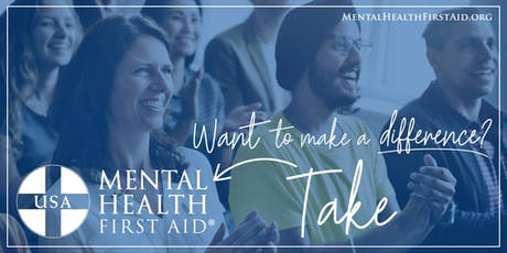Youth Mental Health First Aid Certification Training tickets