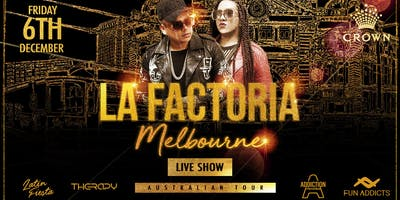 La Factoria Live Show - Old School Latin Party at Crown Casino