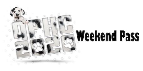 QPHC 2020 Weekend Pass tickets