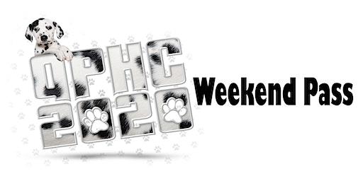 QPHC 2020 Weekend Pass