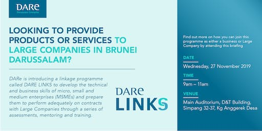 Introduction of DARe Links Programme