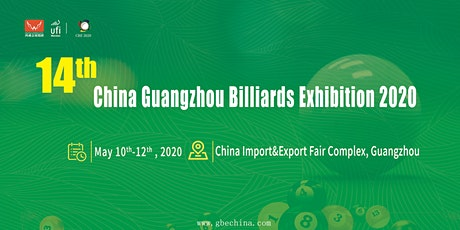 The 14th Guangzhou International Billiards Exhibition tickets