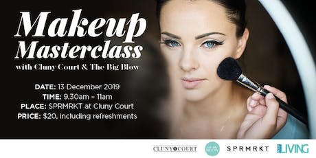 Makeup Masterclass with Cluny Court and The Big Blow tickets