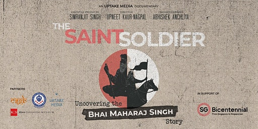 Premiere Screening of The Saint Soldier - Uncovering the Bhai Maharaj Singh Story