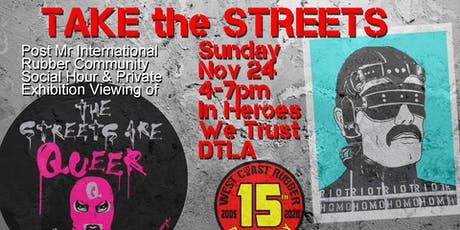 Take the Streets tickets