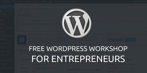 Free Wordpress Workshop For Entrepreneurs