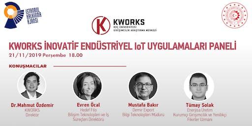 KWORKS İnovatif Endüstriyel IoT Uygulamaları Paneli