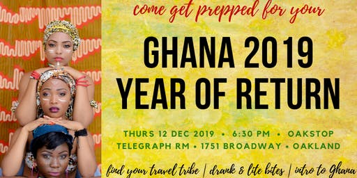 GHANA LOVE – Afrochella/ AfroNation pre-travel Celebration