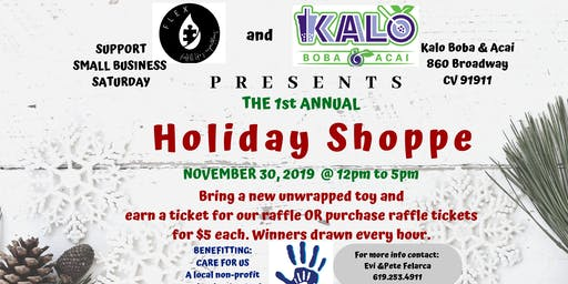 Small Business Saturday Holiday Shoppe