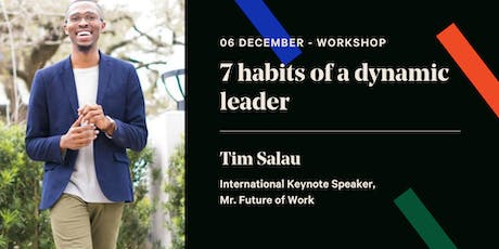 7 habits of a dynamic leader tickets