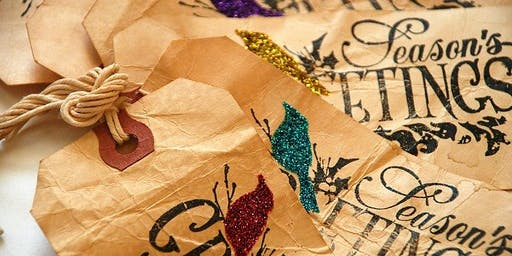 Seed Paper Christmas Crafting