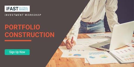 Portfolio Construction Workshop tickets