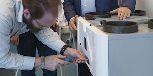 Training Service & Onderhoud ventilatiesystemen  voor de woningbouw