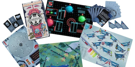Launch Party - Bearscape Educational Escape Board Game