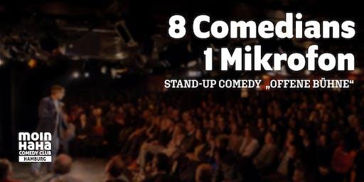 "Hamburg Stand-up Comedy ""Offene Bühne"" 16.11.19"