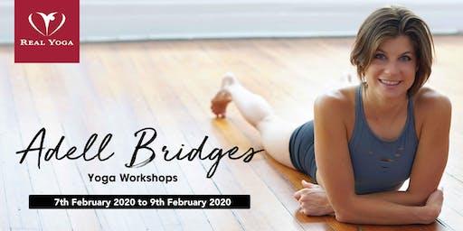 Yoga Workshops by Adell Bridges