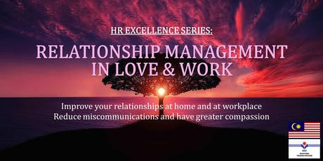 HR Excellence Series: Enneagram for Love & Work tickets