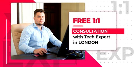 1:1 Free Consultation with Startup Expert in London tickets