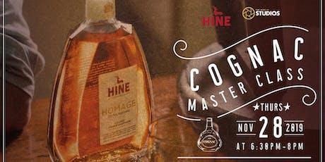 Cognac Masterclass tickets