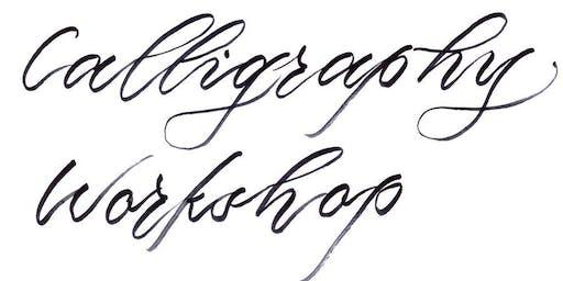 Basic Brush Calligraphy Workshop