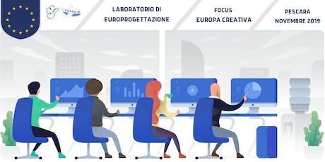 Corso pratico in Europrogettazione biglietti